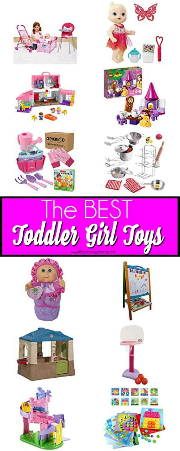 The BEST Toddler Girl Toys.