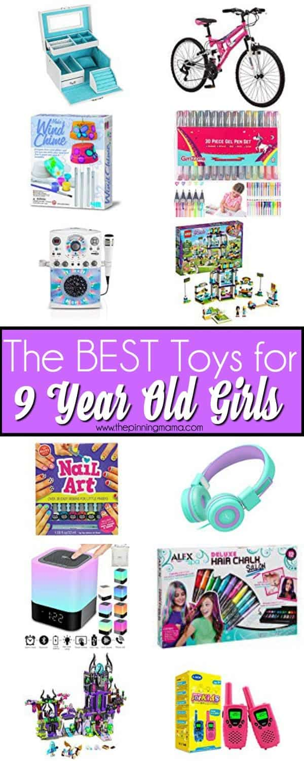 The BEST Toys for 9 year old girls.