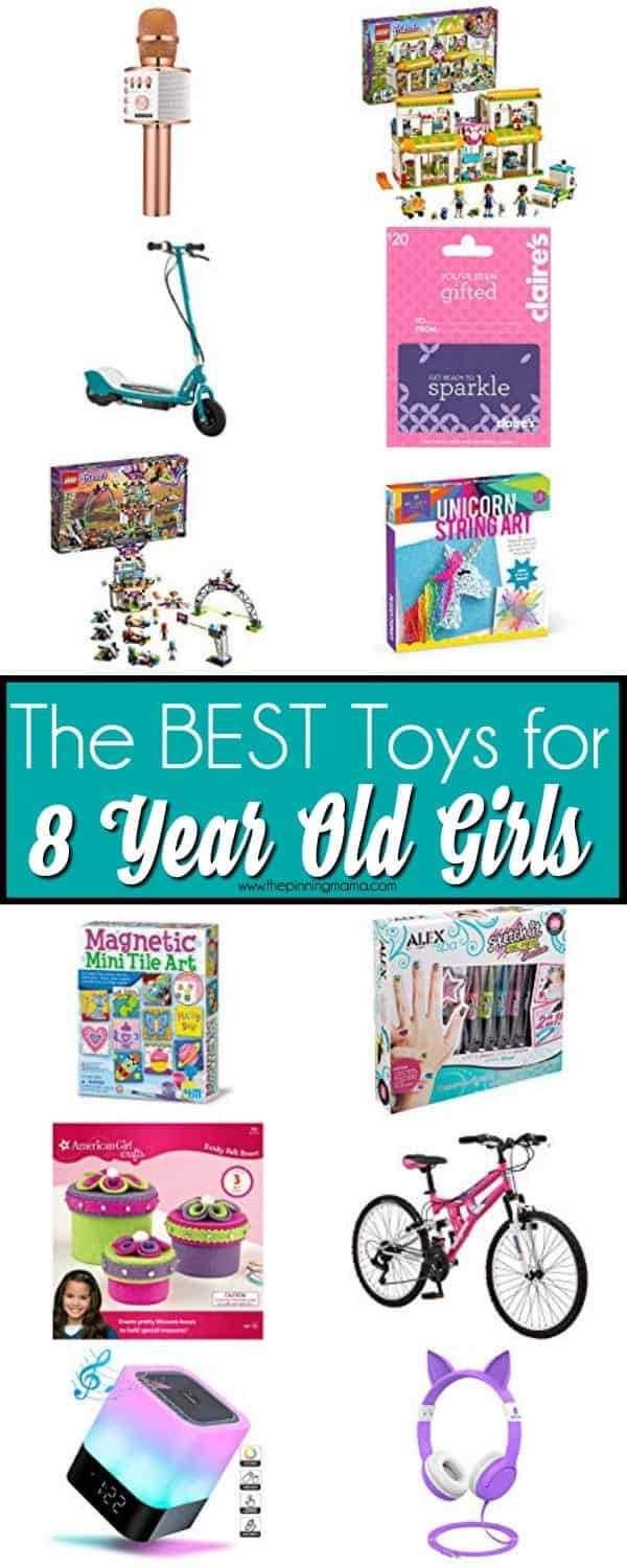 The BEST Toy List for 8 year old Girls.