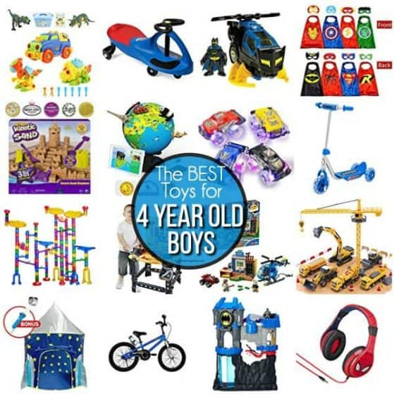 The BEST toys for 4 year old boys.