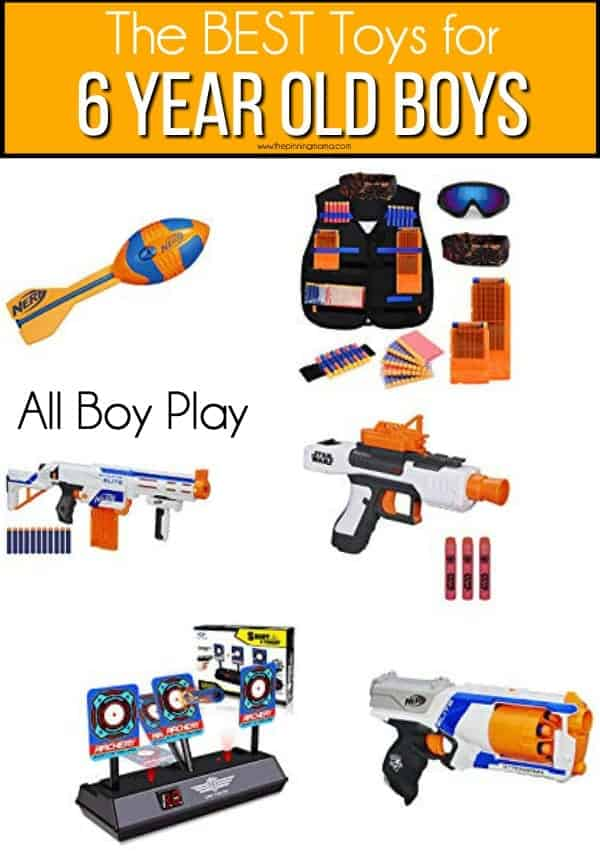 The BEST all play toy for 6 year old boys.