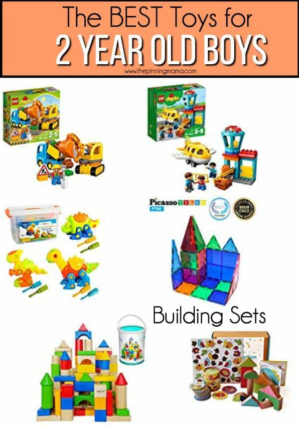 The BEST Building Sets for 2 year old boys.