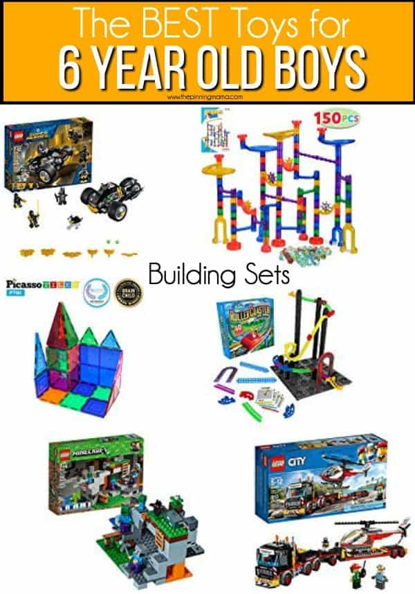 The BEST Building sets for 6 year old boys.