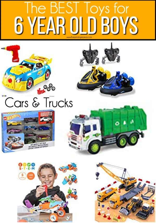 The BEST Cars & Trucks for 6 year old boys.