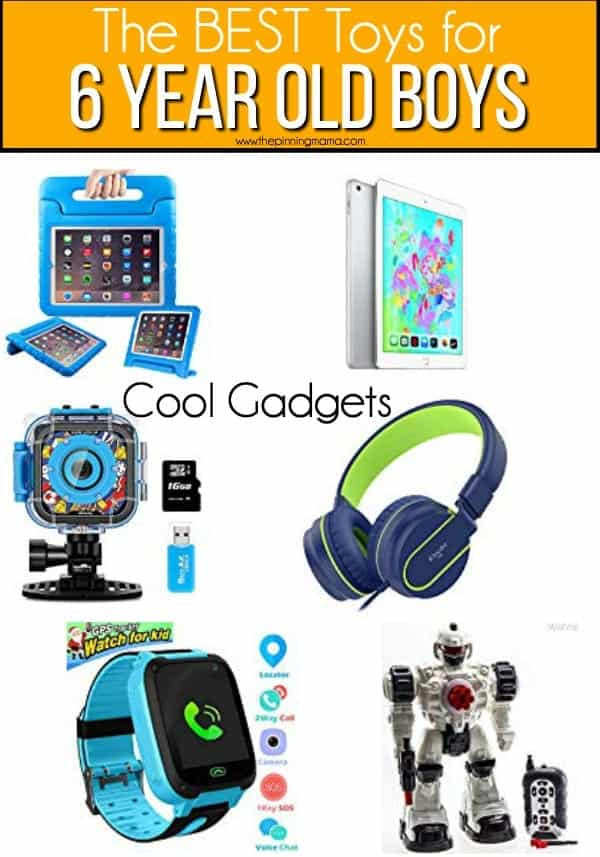 The BEST cool gadgets and electronics for 6 year old boys.