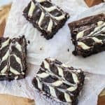 Recipe for Cream Cheese Swirl Brownies.