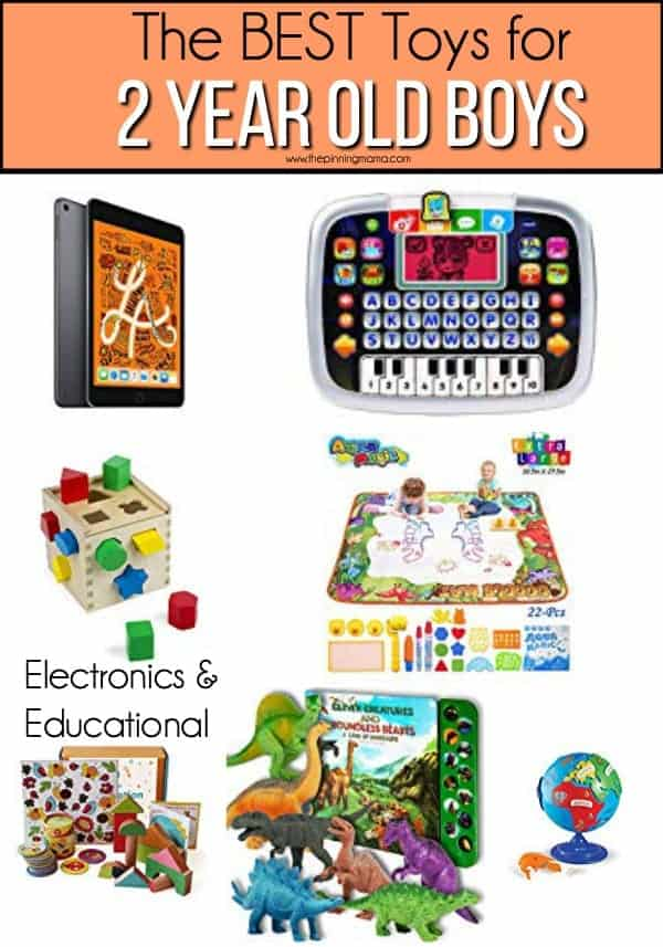 The BEST Educational and Electronic Toys for 2 year old boys.