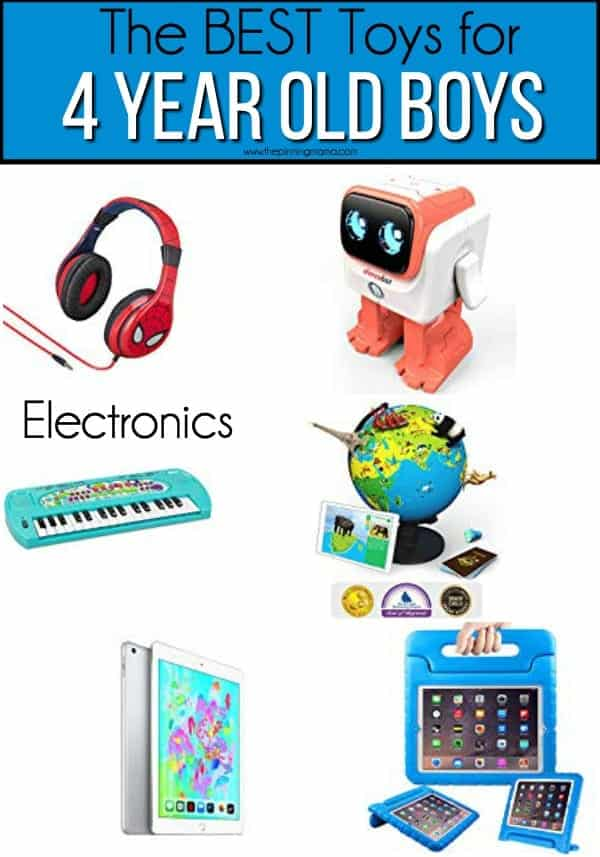 The BEST electronic toys for 4 year old boys.