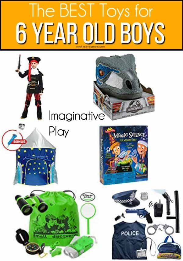 The BEST Imaginative play toy for 6 year old boys.