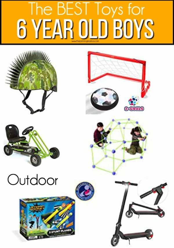 The BEST outdoor toys for 6 year old boys.