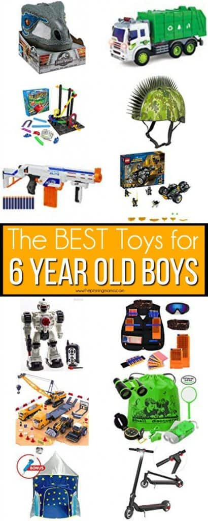 The BEST Toys for 6 year old boys.