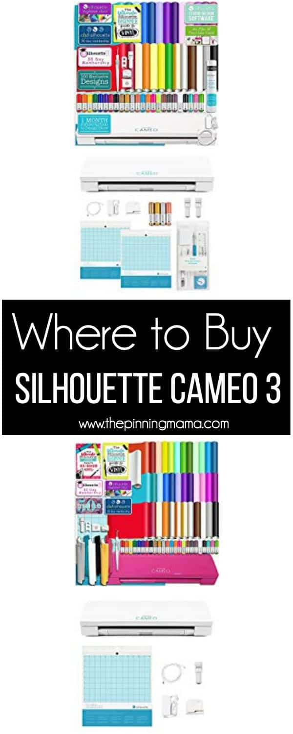 The BIG list of the BEST Places to buy Silhouette CAMEO 3.