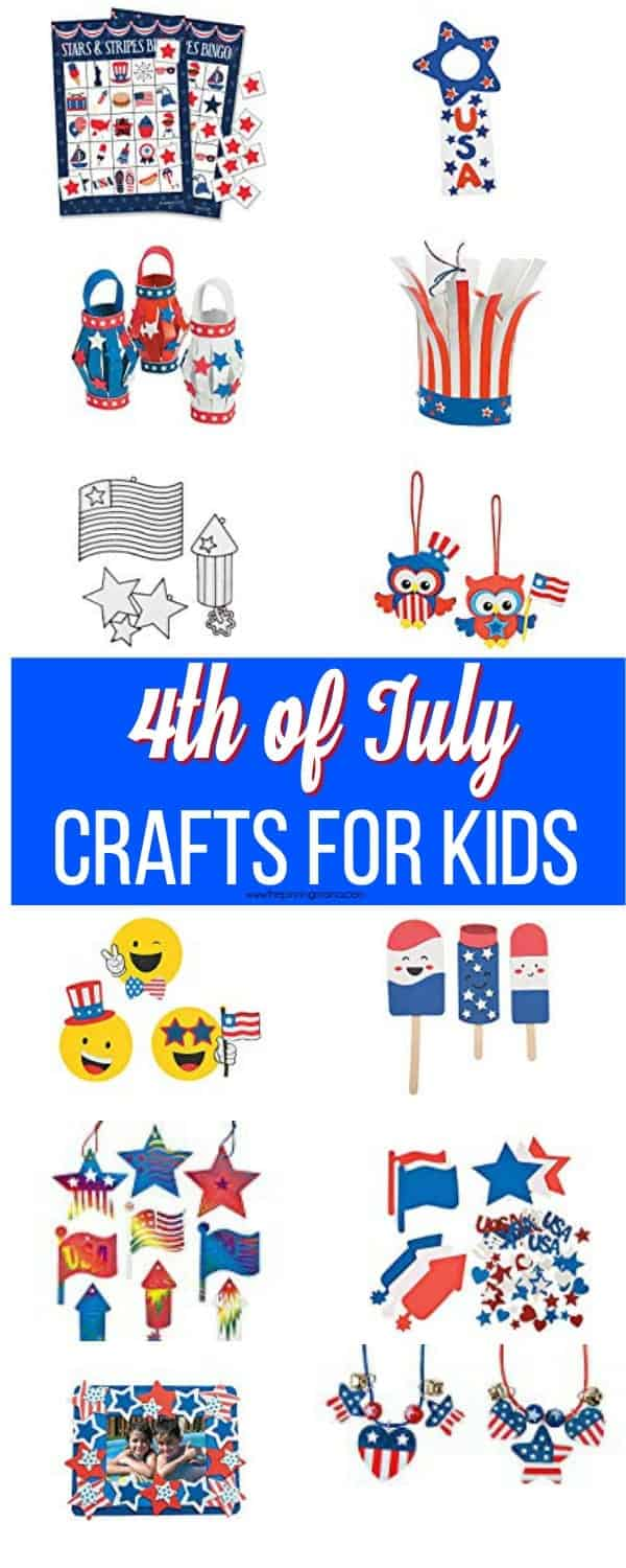 4th Of July Crafts For Kids The Pinning Mama
