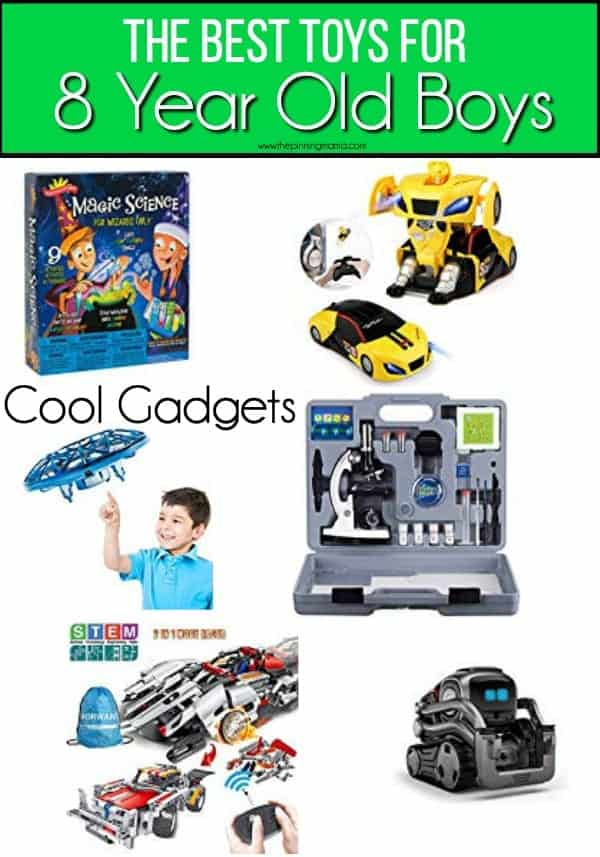 The BEST List of Cool gadget toys for 8 year old boys.