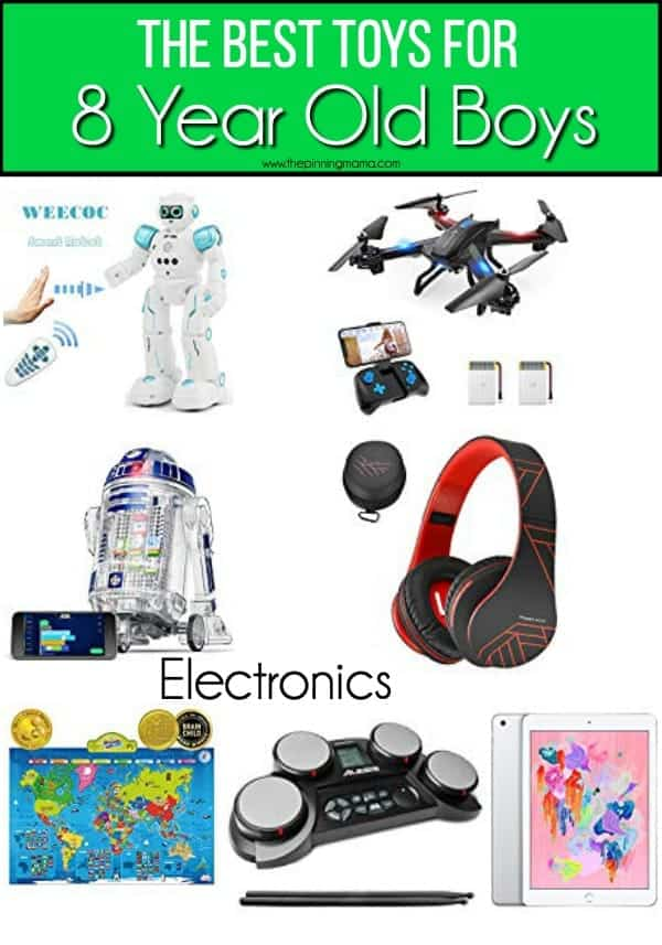 The BEST Electronic toys ideas for 8 year old boys.