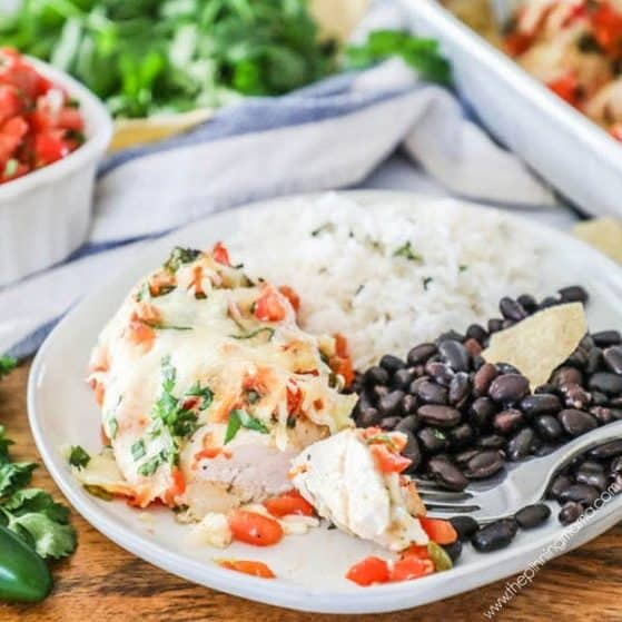 Recipe for Pico de Gallo Chicken.
