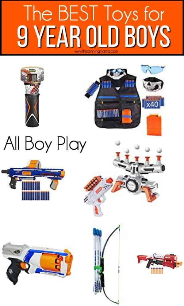 The BEST Toys for all boy play for 9 year old boys.