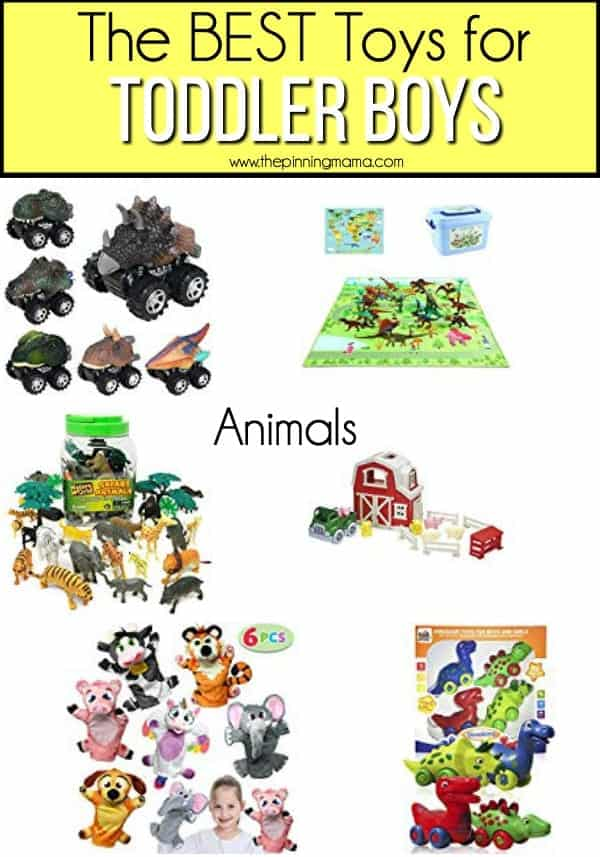 The BEST Animal Toys for Toddler Boys.