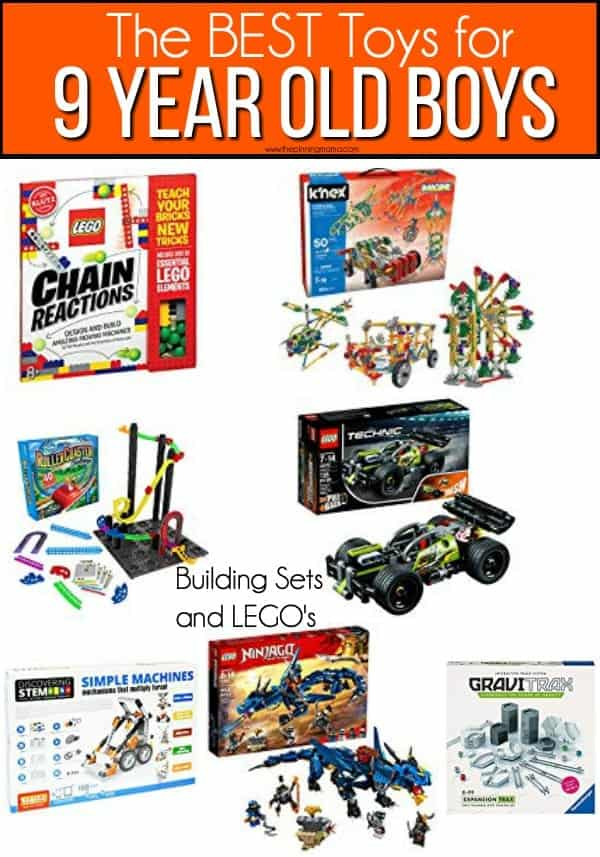 The BEST Building Sets and LEGO Toy ideas for 9 year old boys.
