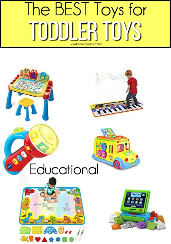 The BEST educational toy ideas for toddler boys.