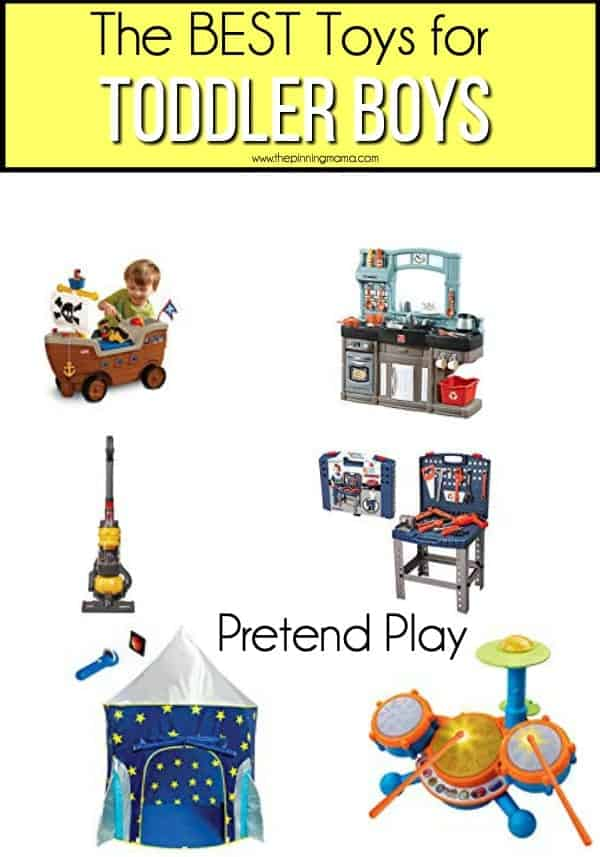 The BEST Pretend Play toys for Toddler Boys.