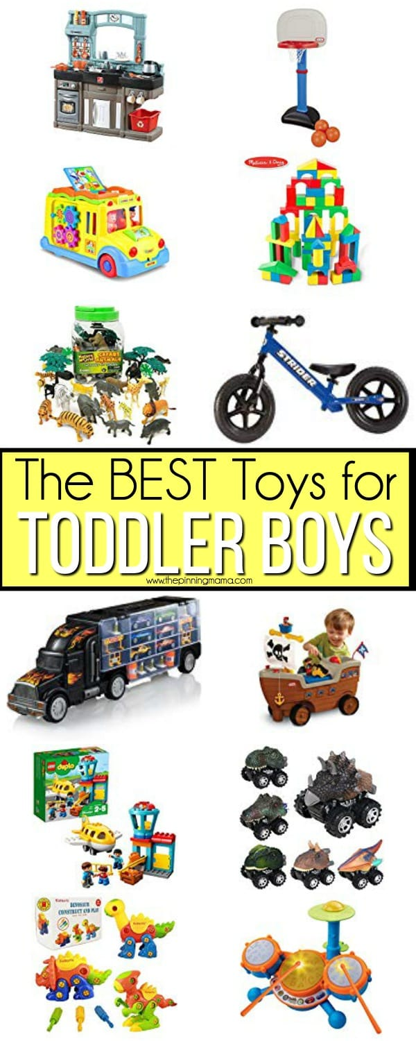 The BEST Toddler Boy Toy Ideas.
