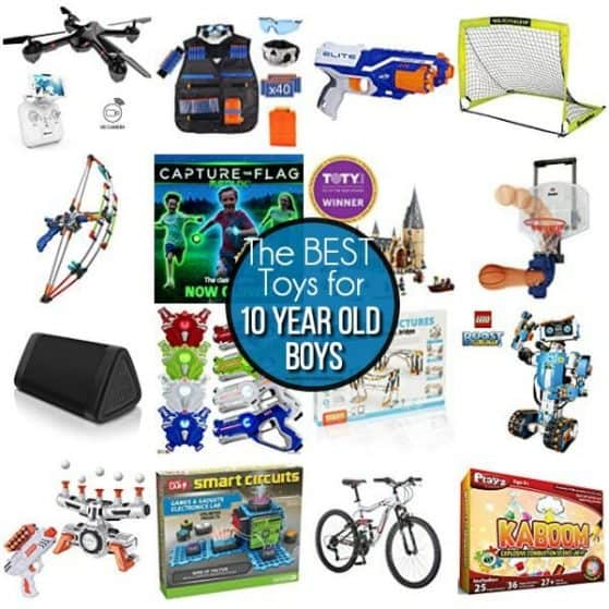 The BEST Toys for 10 year old boys.