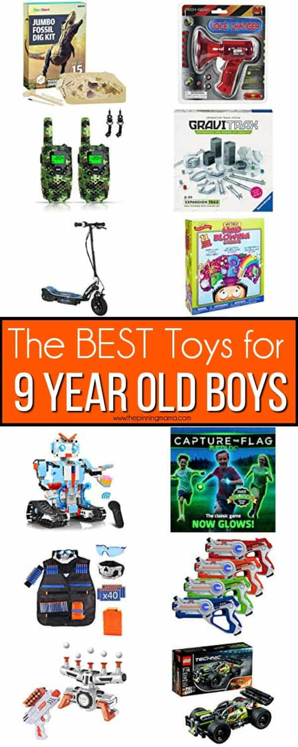 The BEST Toys for 9 Year Old Boys.