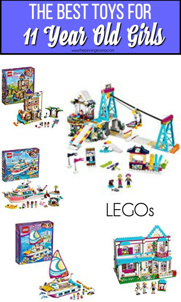 The BEST Lego's for 11 year old girls.