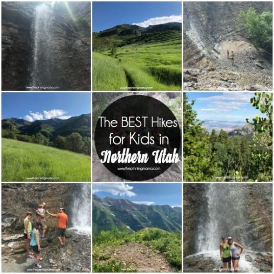 The BEST Hikes for kids in Northern Utah.