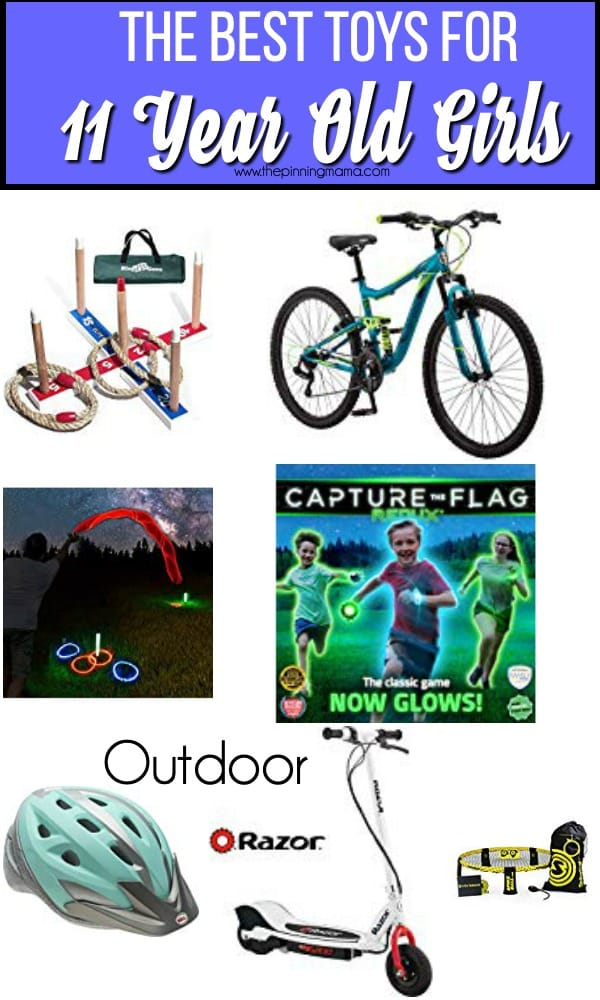 The BEST Outdoor toys for 11 year old girls.