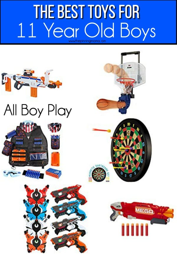 The BEST All boy play toys for 11 year old boys.