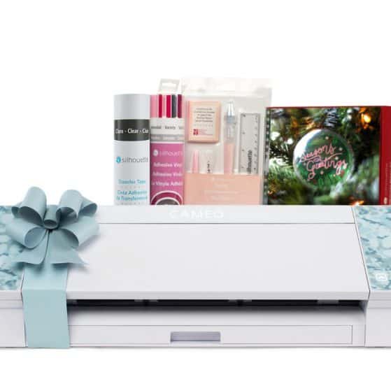 Blue Patterned Silhouette CAMEO 4 Black Friday Bundle
