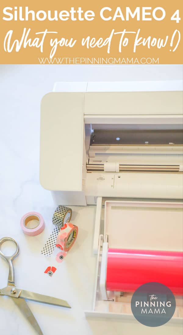 Silhouette CAMEO 4 with craft supplies
